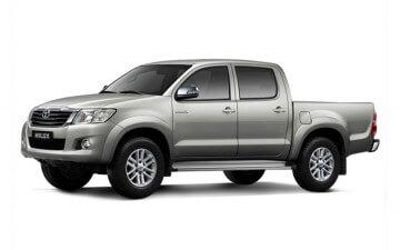 Rent Toyota Hilux 4x4